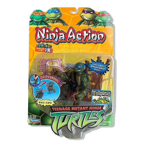Playmates Ninja Action Mutant Ninja Turtles Leonardo Figures/フィギュア