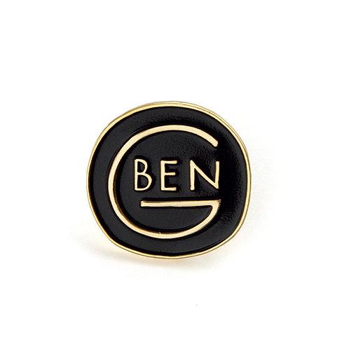 BEN-G ROUND LOGO PIN