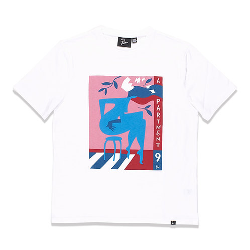 by Parra apartment nein t-shirt