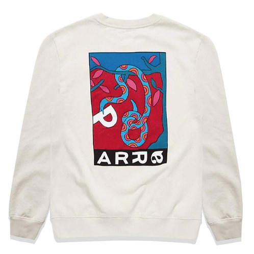 by Parra eve's garden crew neck sweatshirt / Off White