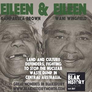 EILEEN BROWN AND EILEEN WANI WINGFIELD