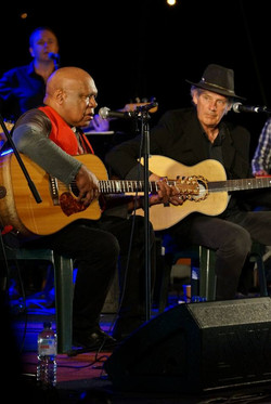 Archie Roach and Shane Howard