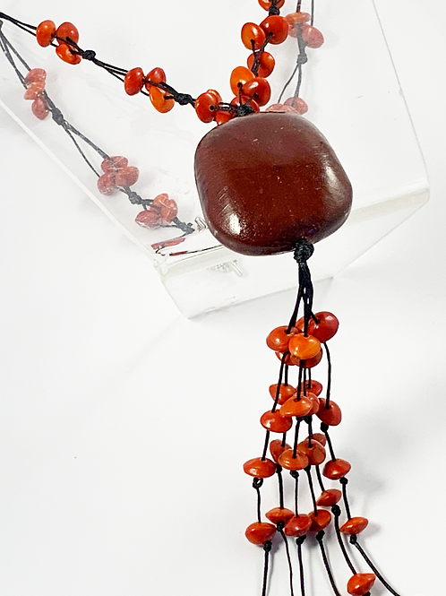 Seed Necklace by Michelle Weare