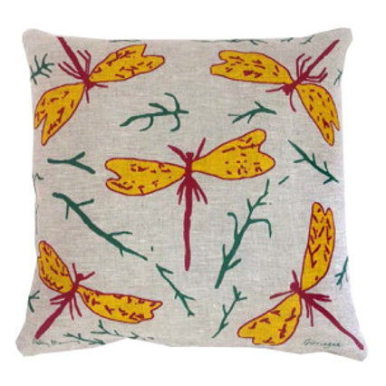 Cushion Cover: Dragonfly by Sally Murray