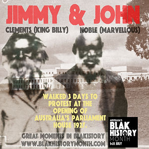 Jimmy CLEMENTS and John NOBLE