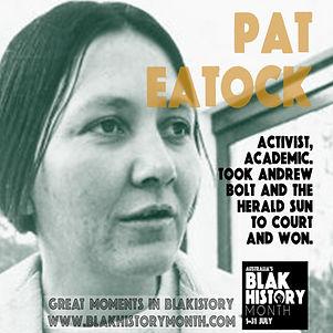 Pat Eatock