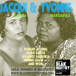 JACQUI Katona and YVONNE Margarula