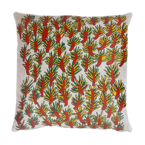 Cushion Cover: Wattle Tree by Ninney Murray