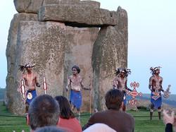 Bardi Dancers Stonehenge