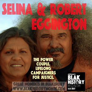 Selina and Robert Eggington
