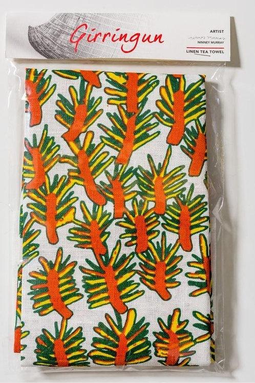 Tea Towel: Wattle by Ninney Murray
