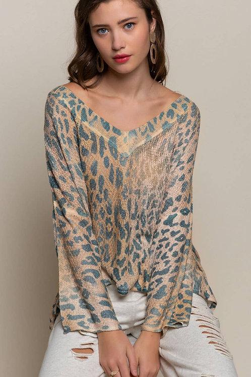 Vintage Leopard Sweater