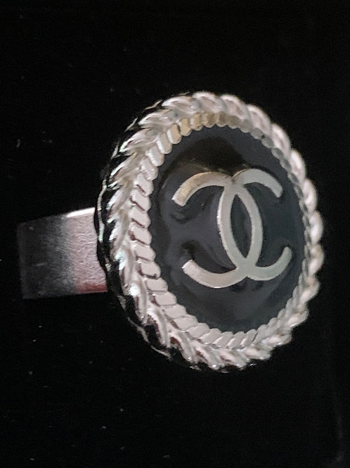 Chanel Ring - silver