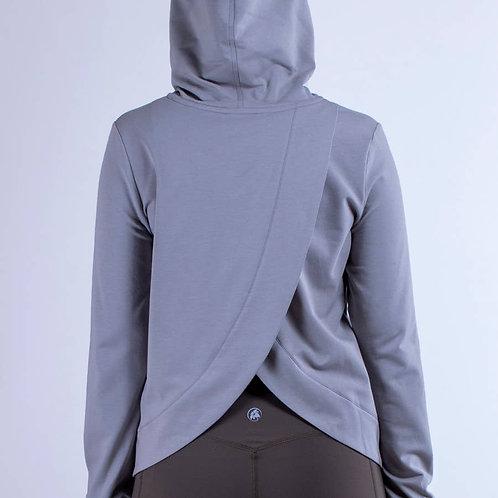 Asymmetrical Back Hoodie