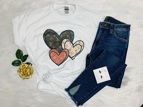 LV Heart  T-Shirt