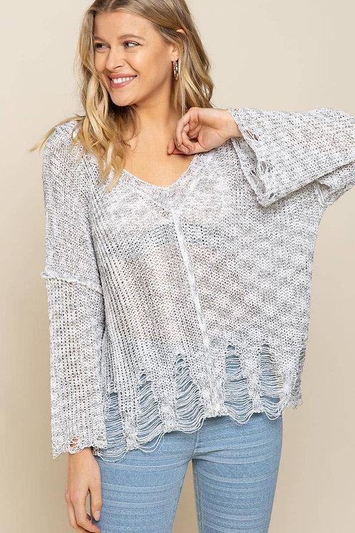 Mirage Grey Sweater