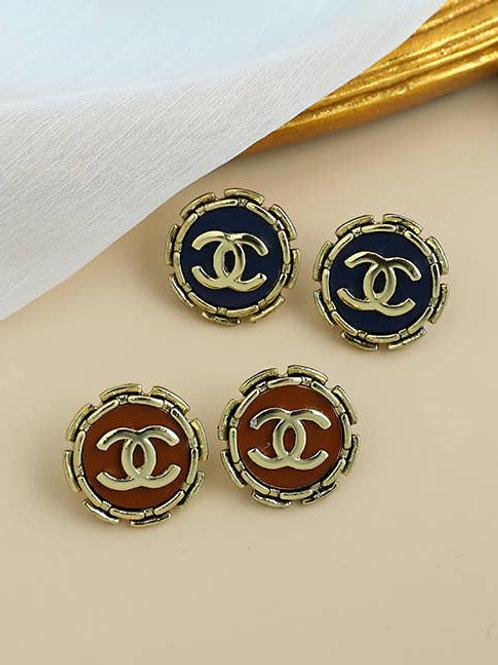 Nola CC Statement Earrings