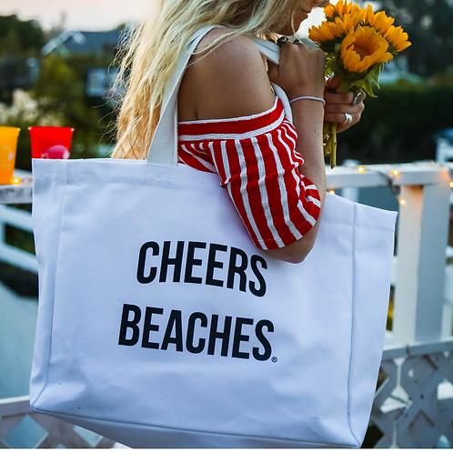 Cheers Beaches Tote Bag