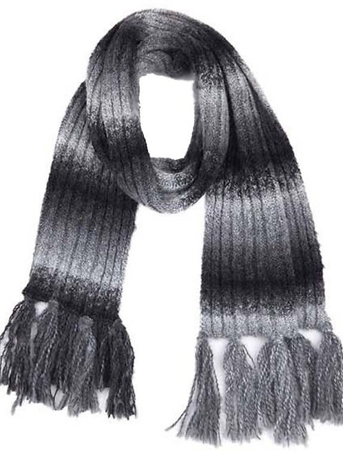 Black Mix Ombre Scarf