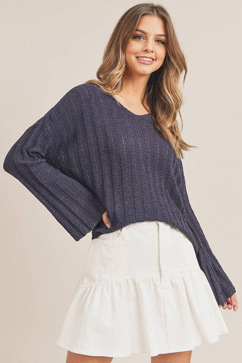 Thru it all pullover