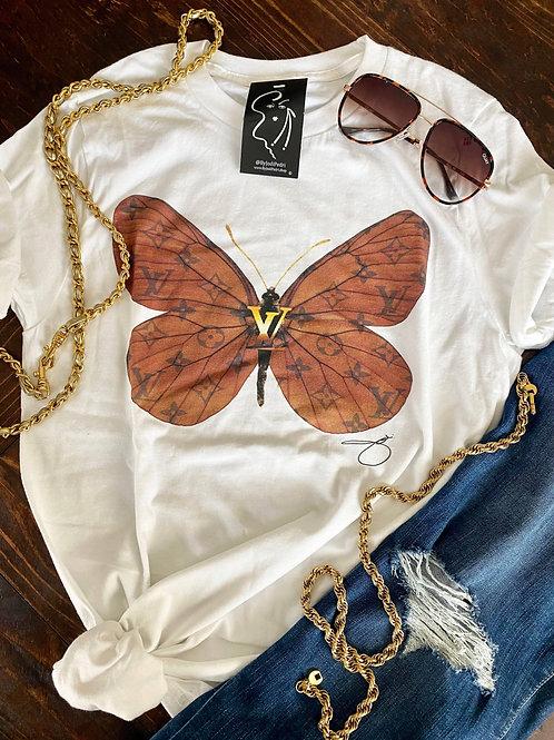 LV Butterfly Tee