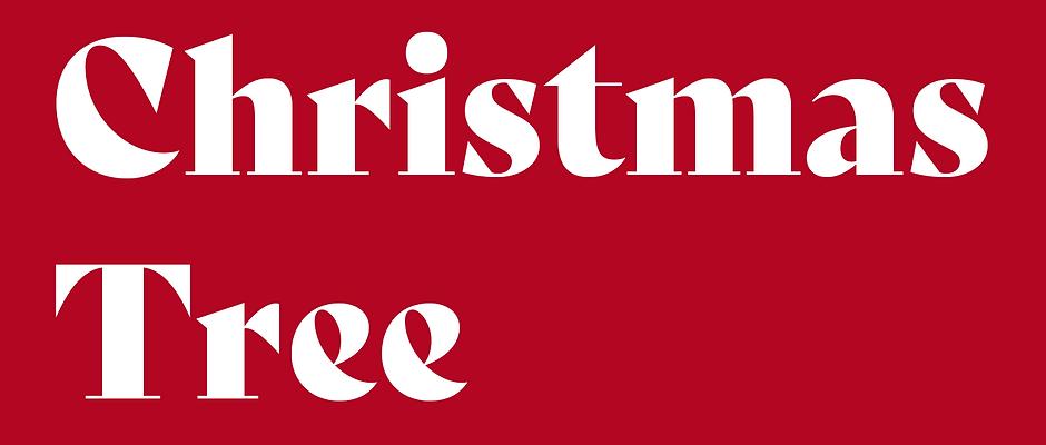 'Post-Christmas Tree Collection'