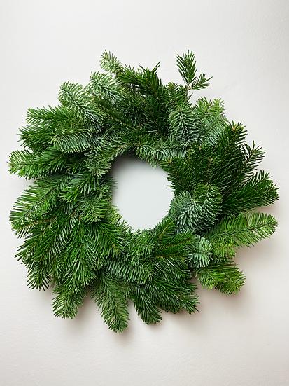 Real Pine Christmas Wreath