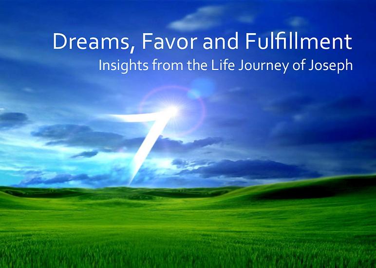 Dreams, Favor and Fulfillment DVD
