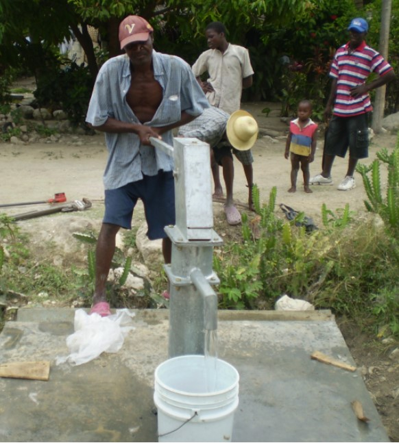 New Well in Haiti