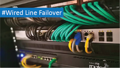 100% network uptime with LTE Failover