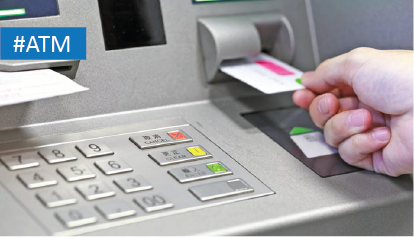 Secure and reliable access for ATM Machines