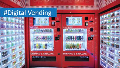 Connecting Next Generation Vending Machines