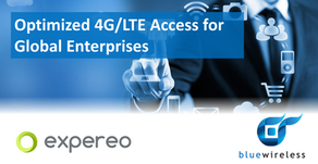 News : Expereo and Blue Wireless partner to deliver Optimised 4G/LTE WAN Access for Global Enterpris