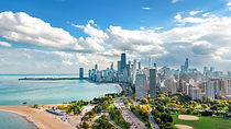 chicago-skyline-aerial-drone-view-from-l