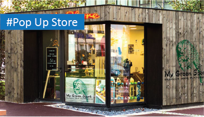 Instant Access for retail pop-up stores