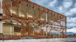 Perforated Building Facade Panels