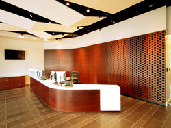 Reception with Perforated Back