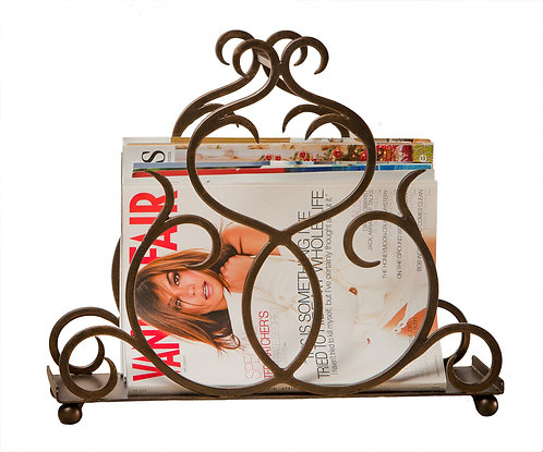BRONZE FLARE SCROLL MAG.  HOLDER