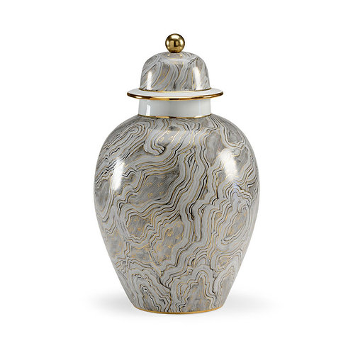 Marbled Grey Urn