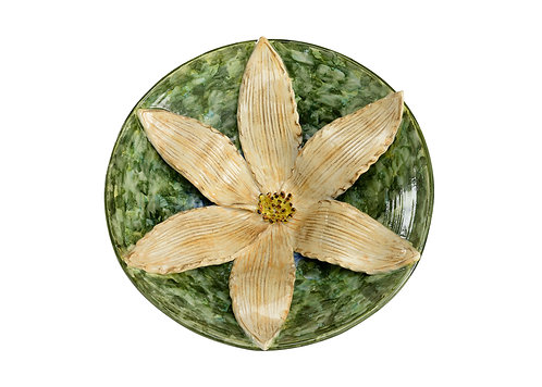 LILY CENTERPIECE - GREEN