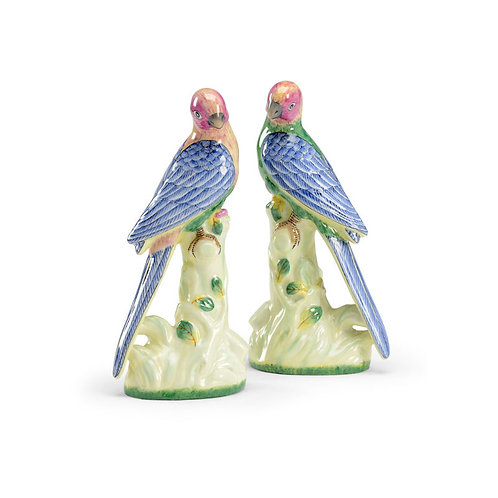 Porcelain Birds - PAIR
