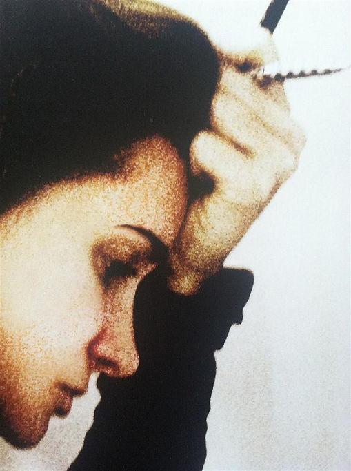 Portrait with pencils - Fotini Galanes.j