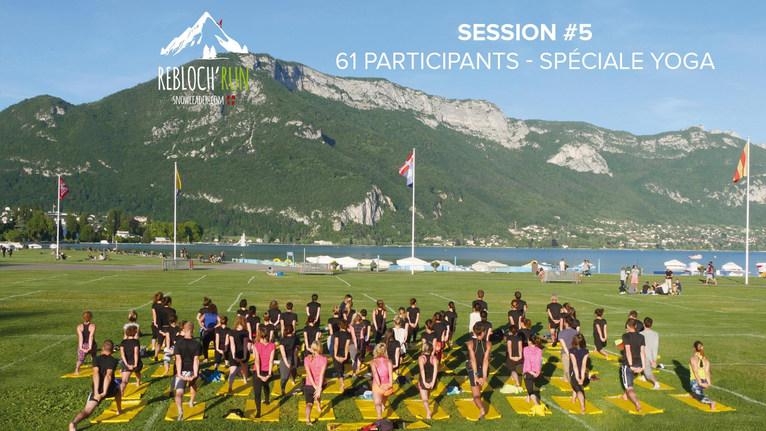 Rebloch'run session spéciale Yoga