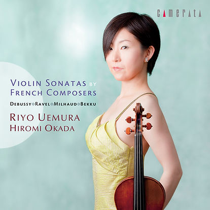 CD/ Ravel/ Debussy/Milhaud/Hiromi Okada/Riyo Uemura