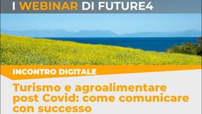 """Turismo e agroalimentare post Covid"" | WEBINAR"