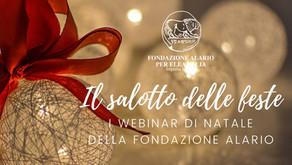 Il salotto delle feste: i webinar di Natale della Fondazione Alario