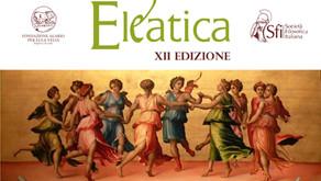 Eleatica 2021| al via la XII^ edizione della sessione internazionale di filosofia antica