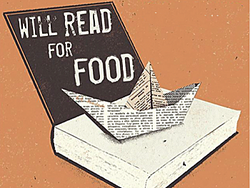 Will write & read for food
