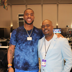 RJ Williams and Chi Bears WR Allen Robin