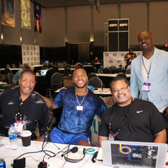 Pro Talk Crew and Chi Bears WR Allen Rob